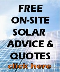 If you live on the Gold Coast click here for your FREE solar power site inspection & quotation