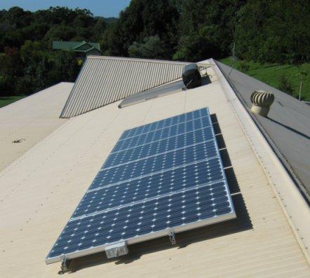 Solar Power Mullumbimby - Michael's Sharp 1.05kW PV system