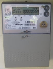 Energex use the Atlas EDMI 3 phase meter on the Gold Coast