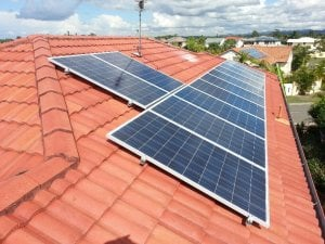 Solar Power Mermaid Waters - Dominic's 6kW Solar Power System