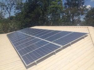 Solar Power Greenbank - Adrienne's 6kW Solar Power System