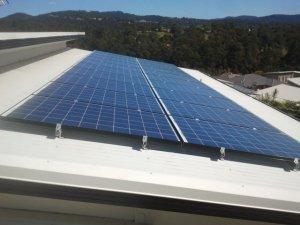 Solar power Bonogin - Fiona's 5kW Solar Power System