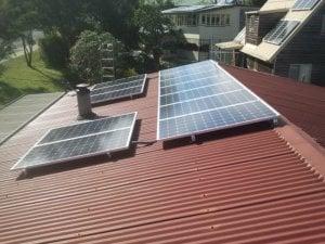 Solar Power Lower Beechmont - Amanda's 2.4kW Solar Power System