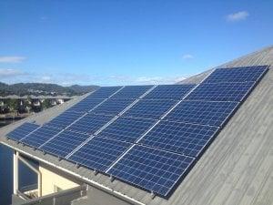 Solar power Robina - Andrew's 4.41kW Solar Power System