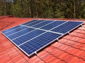 Solar Power Mudgeeraba - Jean's 2.5kW Solar Power System