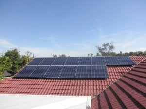 Solar power Robina - Peter's 3.04 kW Solar Power System