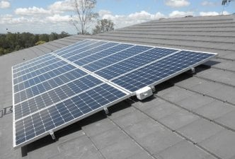 3.04 kW solar power system