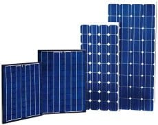 Learn about the differences between solar panels here