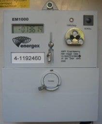 Energex EM1000 Electricity Meter