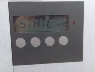 Fronius inverter with a STATE 443 error code