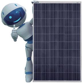 JA Solar panel robot