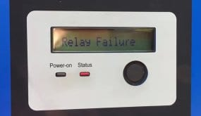 Clenergy Solar Inverter with Relay Failure Fault