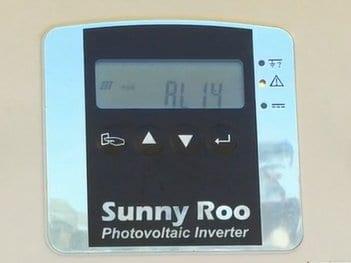 Sunny Roo and Sunna inverter AL-14 error code