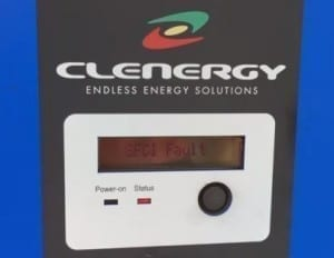 Clenergy GFCI Fault on Clenergy Solar Inverter