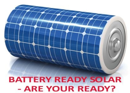 Gold Coast Solar Power Solutions provide battery ready solar power systems