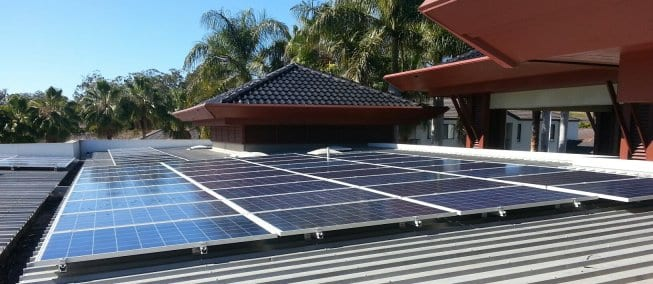 Installing Solar Panels On A Low Pitch Or Flat Roof
