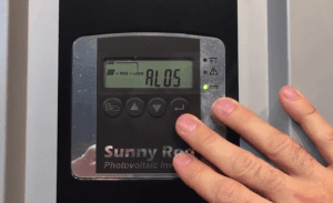 Sunny Roo Beyond Building and Sunna Inverter AL05 Alarm Code