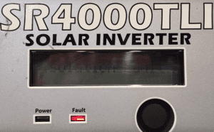 Sunny Roo Solar Inverter Isolation Fault