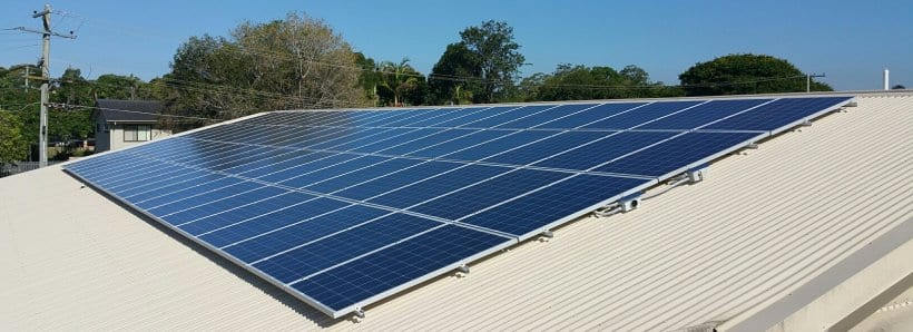 Rochedale Christian Childrens Centre Solar Panels