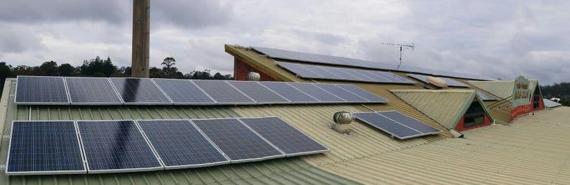 Tambrone Mountain Bowls Club 21kW of Solar Panels