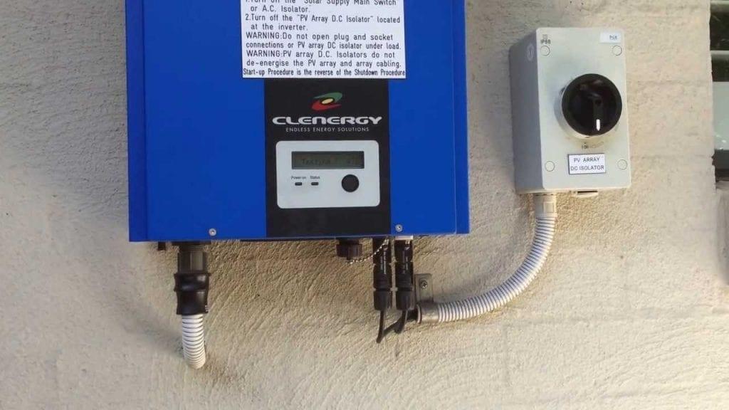 Clenergy SPH Solar Inverter Error Messages
