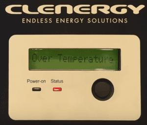 Clenergy Solar Inverter Over Temperature