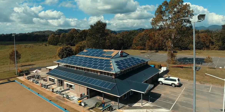 Mudgeeraba Bowls 20kW solar power system