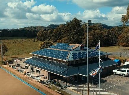 Mudgeeraba Bowls Club Solar Power System proudly supplied and installed by Gold Coast Solar Power Solutions