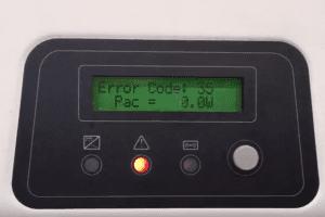 Zeversolar Error Code 35