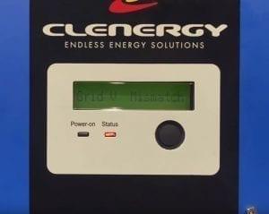 Clenergy SPH Solar Inverter Grid V Mismatch Error Code