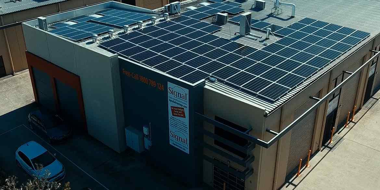 Signal Advantage 30kW solar power system