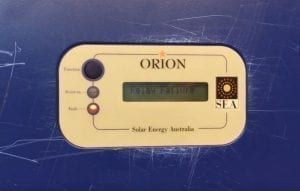 SEA Orion Solar Inverter Relay Failure