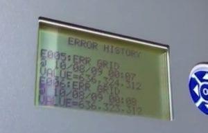 CMS10000 Solar Inverter ERR GRID