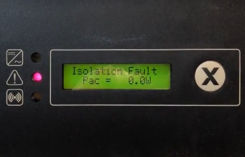 SolaX Isolation Fault - Gold Coast Solar Power Solutions