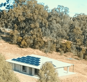 remote off grid solar power system