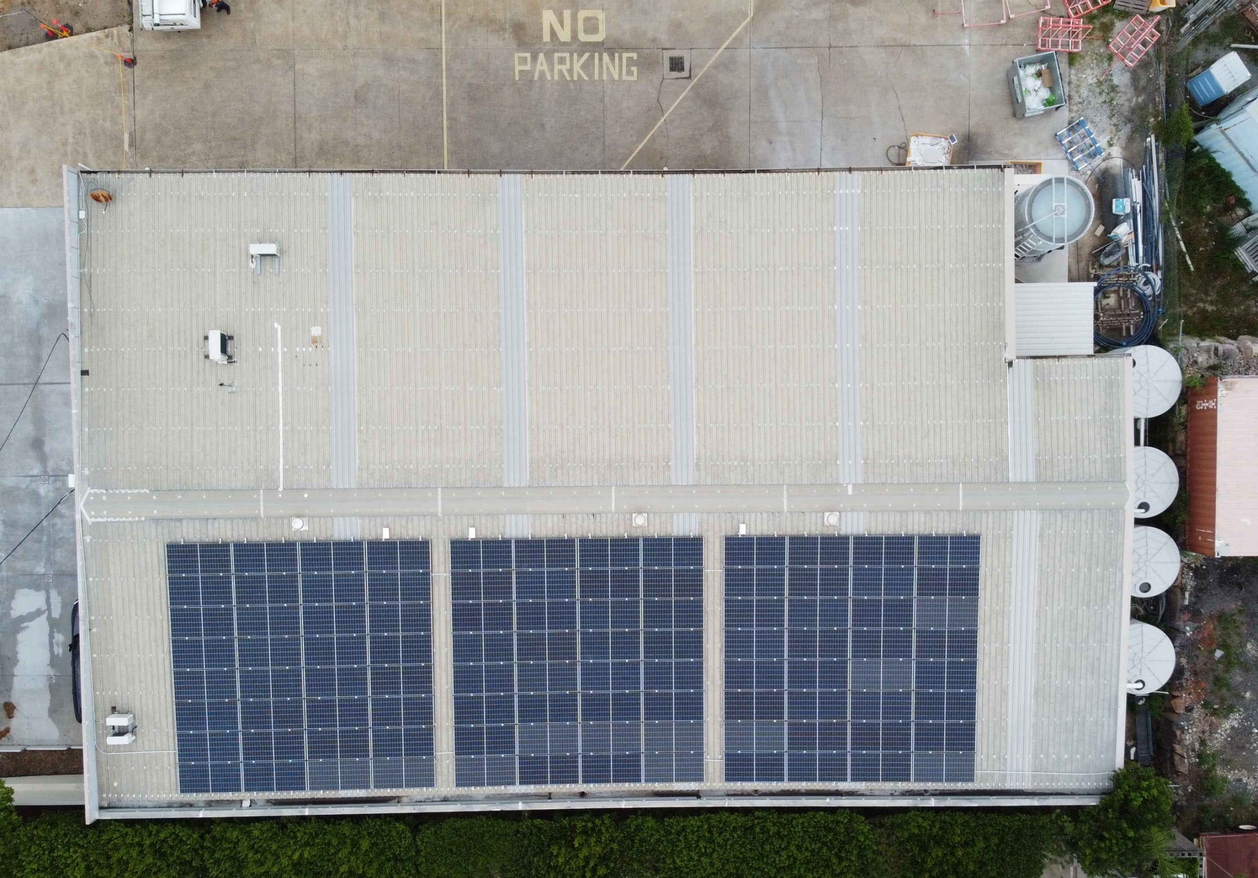 38kW SolarEdge commercial solar power system at Arundel