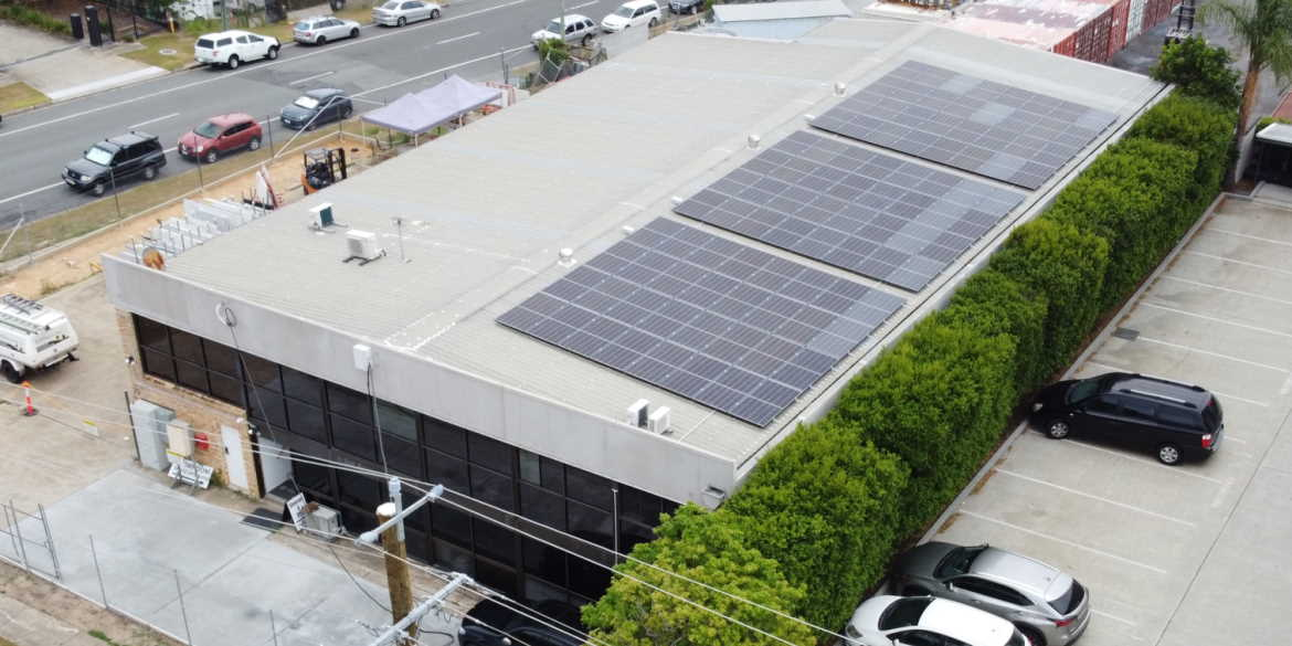 Arundel commercial 38kW solar power system